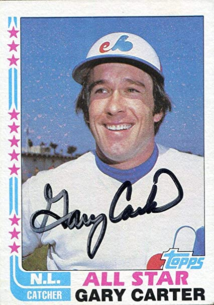 736f2a13da3232 Image Unavailable. Image not available for. Color: Gary Carter ...