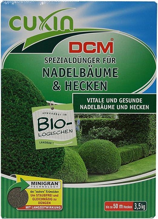 Cuxin 50604 - Abono Especial para Las coníferas y setos, 3, 5 kg: Amazon.es: Jardín