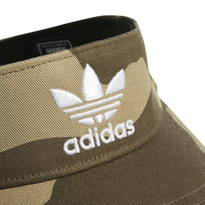 037dc656 Amazon.com: adidas Men's Originals Twill Visor, Aop Camo Olive Cargo/White,  One Size: Sports & Outdoors