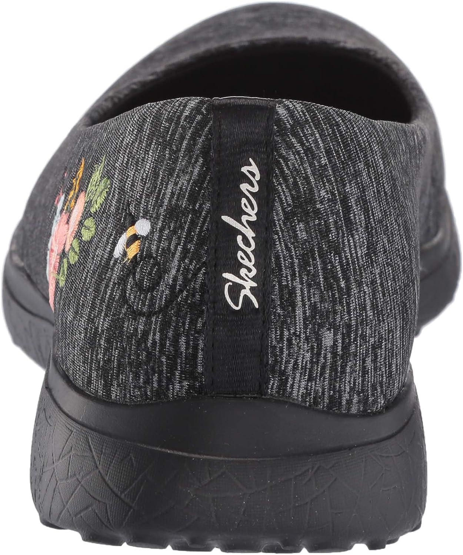 Skechers Womens Microburst-Botanical Paradise Sneaker
