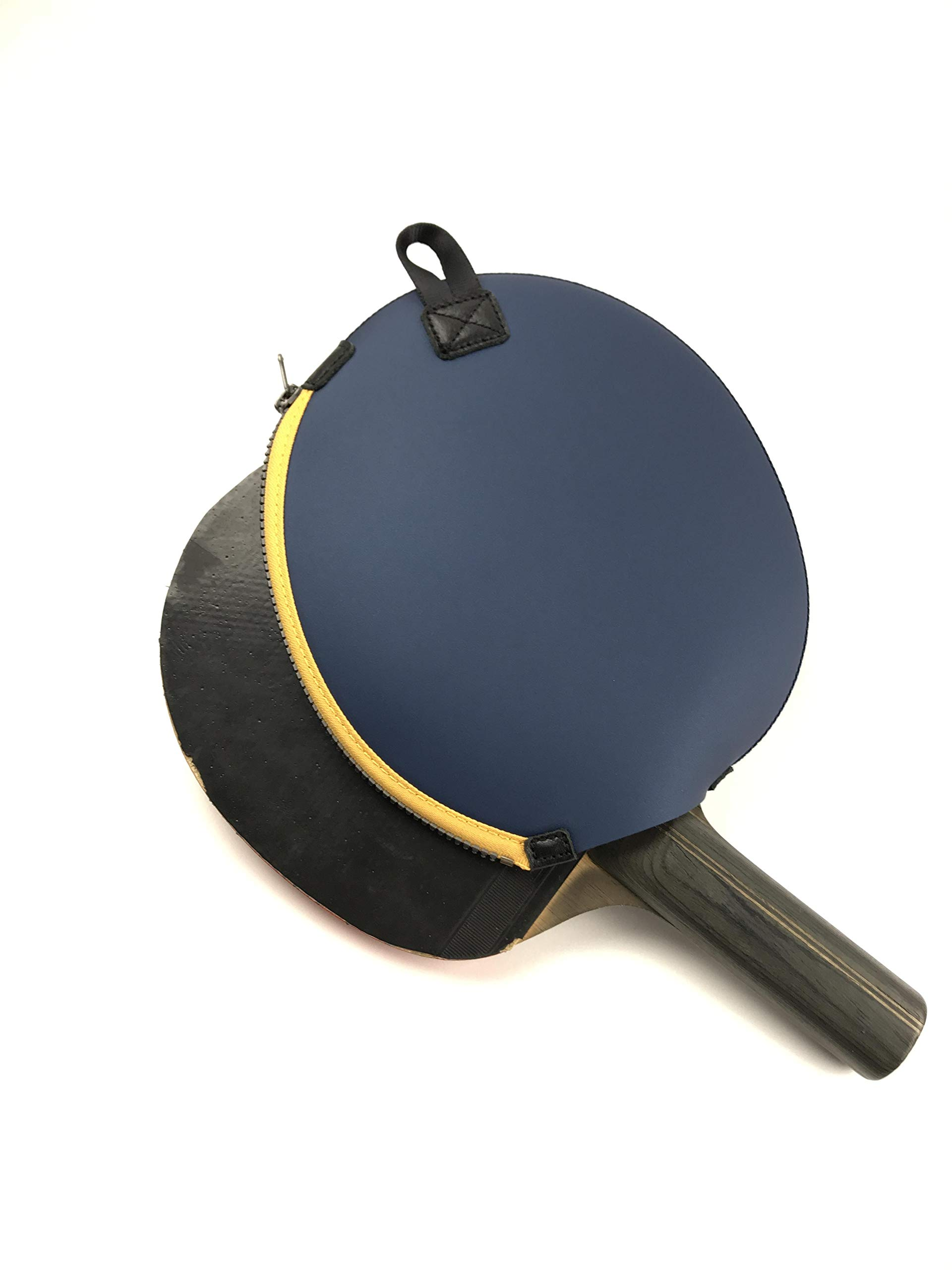 ONEJOY Ping Pong,Table Tennis Racquet Bag,Sleeves with Zipper AJ60,Loop to Hook,19cm x 17cm, for 1 Racquet/Racket/Paddle. by ONEJOY (Image #7)