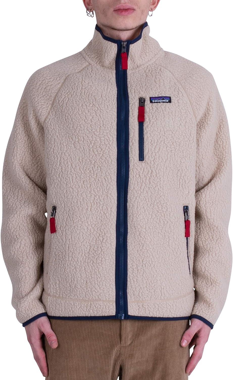 PATAGONIA(パタゴニア) メンズ レトロ パイル フリース ジャケット 男性用 Mens Retro Pile Fleece Jacket 22801 [並行輸入品] El Cap Khaki (ELKH) L