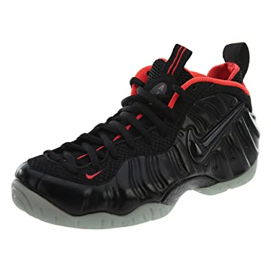 c4d877cb2ee Nike Air Foamposite Pro PRM Yeezy Men s Shoes Black Black-Laser Crimson  616750-