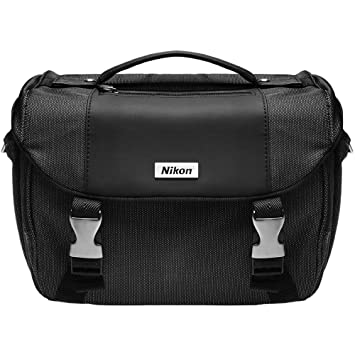 Amazon.com : Nikon Deluxe Digital SLR Camera Case - Gadget Bag ...