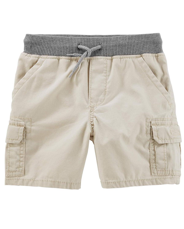 dd264e482 Amazon.com: OshKosh B'Gosh Baby Boys' Pull-On Cargo Shorts, Khaki, 6-9  Months: Clothing