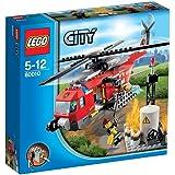 Lego City - 60010 - Jeu de Construction - L'hélicoptère des pompiers