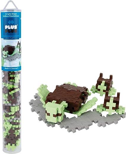 Sea Turtle Mini Maker Tube 70 pcs Plus-Plus
