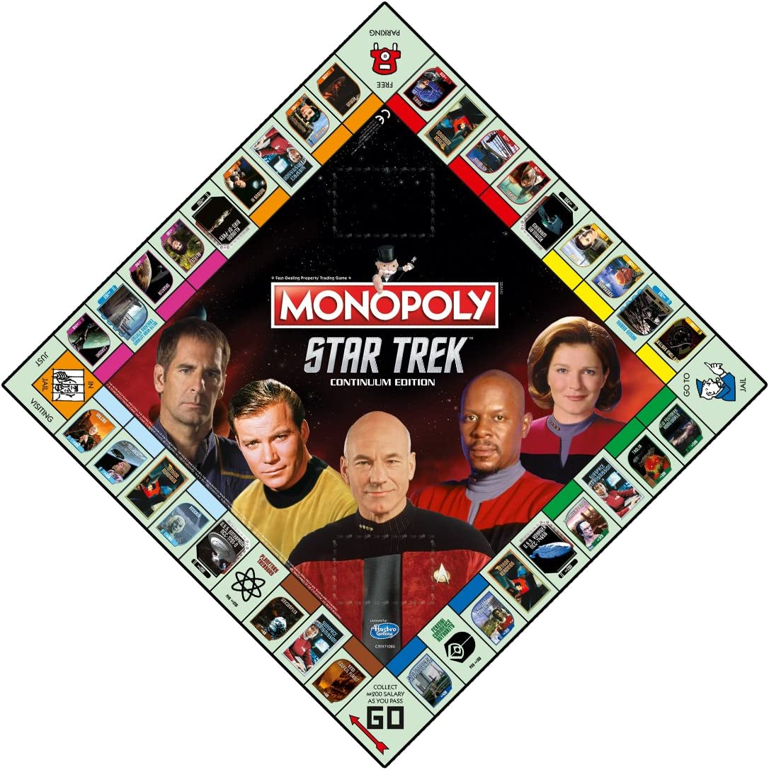 Monopoly Star Trek Continuum Edition Family Board Game (Versión Inglesa): Amazon.es: Juguetes y juegos