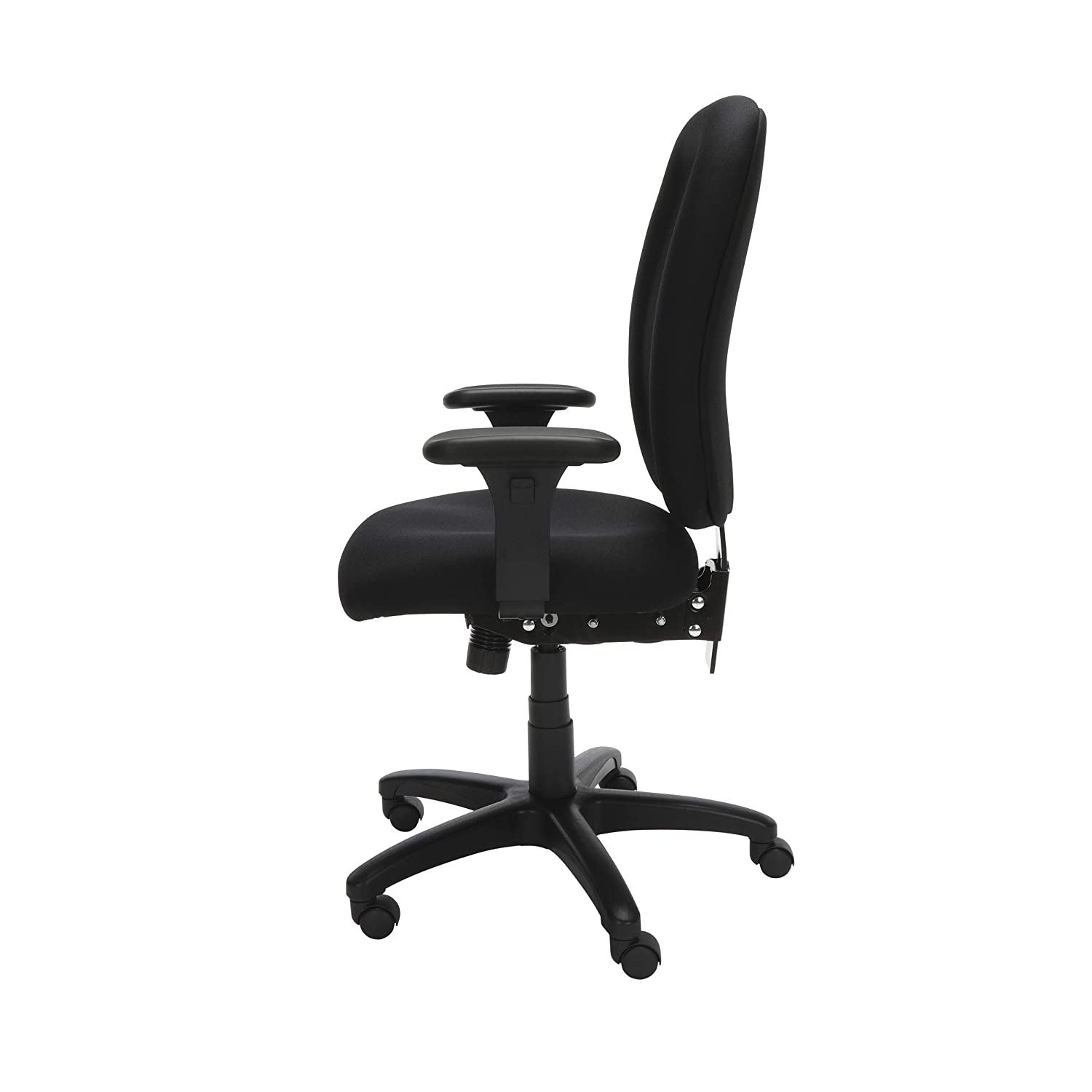 OFM Ergonomic Upholstered Multi-Adjustable ComfySeat Task Chair with Arms Navy 125-804
