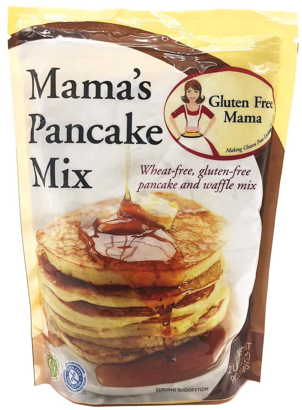Gluten Free Mama, Mamas Pancake Mix and Waffle Mix, 32 oz ...
