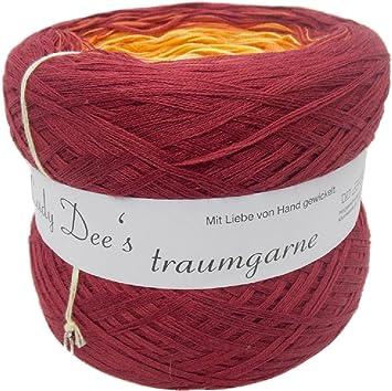 Lady Dee s sueño Garne 250 g Bobbel – degradado lana Ideal para toallitas 08