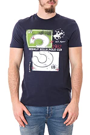 Beverly Hills Polo Club - Camiseta - para Hombre: Amazon.es: Ropa ...