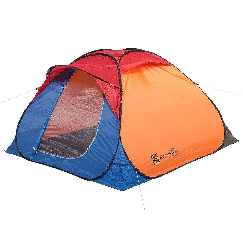 Product Details  sc 1 st  eBay & Camping Travel Joker Pop Up Tent Multi Colour 3 Persons   eBay