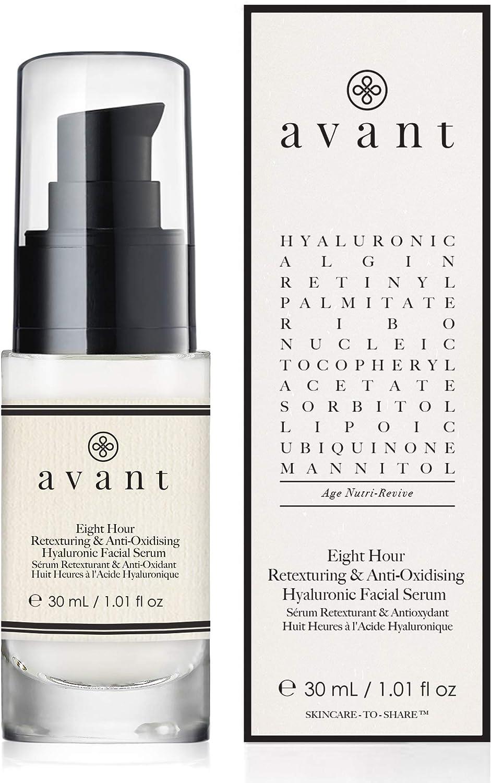 Avant Skincare Sérum Facial Antioxidante con Ácido Hialurónico, 30 Mililitros