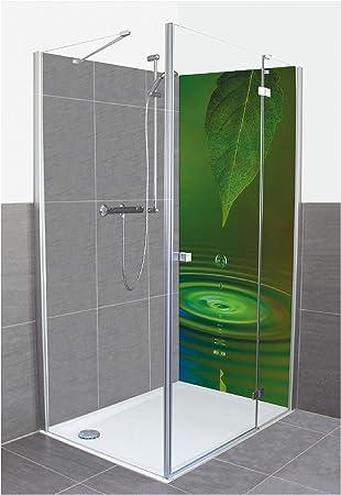 Artland A5OR - Revestimiento de Pared para Ducha o Pared (Aluminio), diseño de Gotas de Agua de James Steidl, Color Verde: Amazon.es: Juguetes y juegos