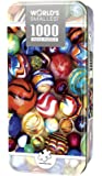 MasterPieces World's Smallest Jigsaw Puzzle Tin, All My Marbles, Collectable Box, 1000 Mini Pieces