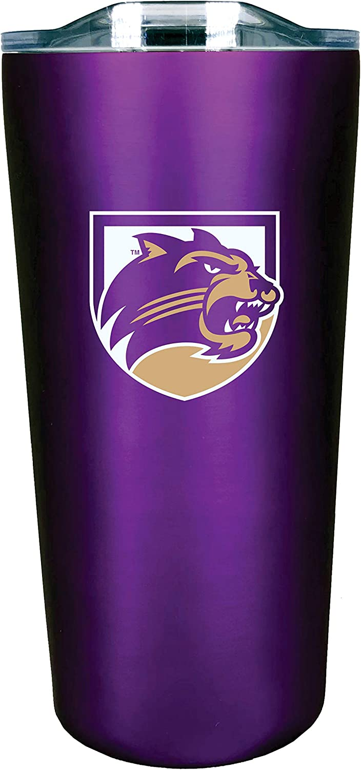 The Fanatic Group Western New England University Double Walled Soft Touch Tumbler Design-2 Blue