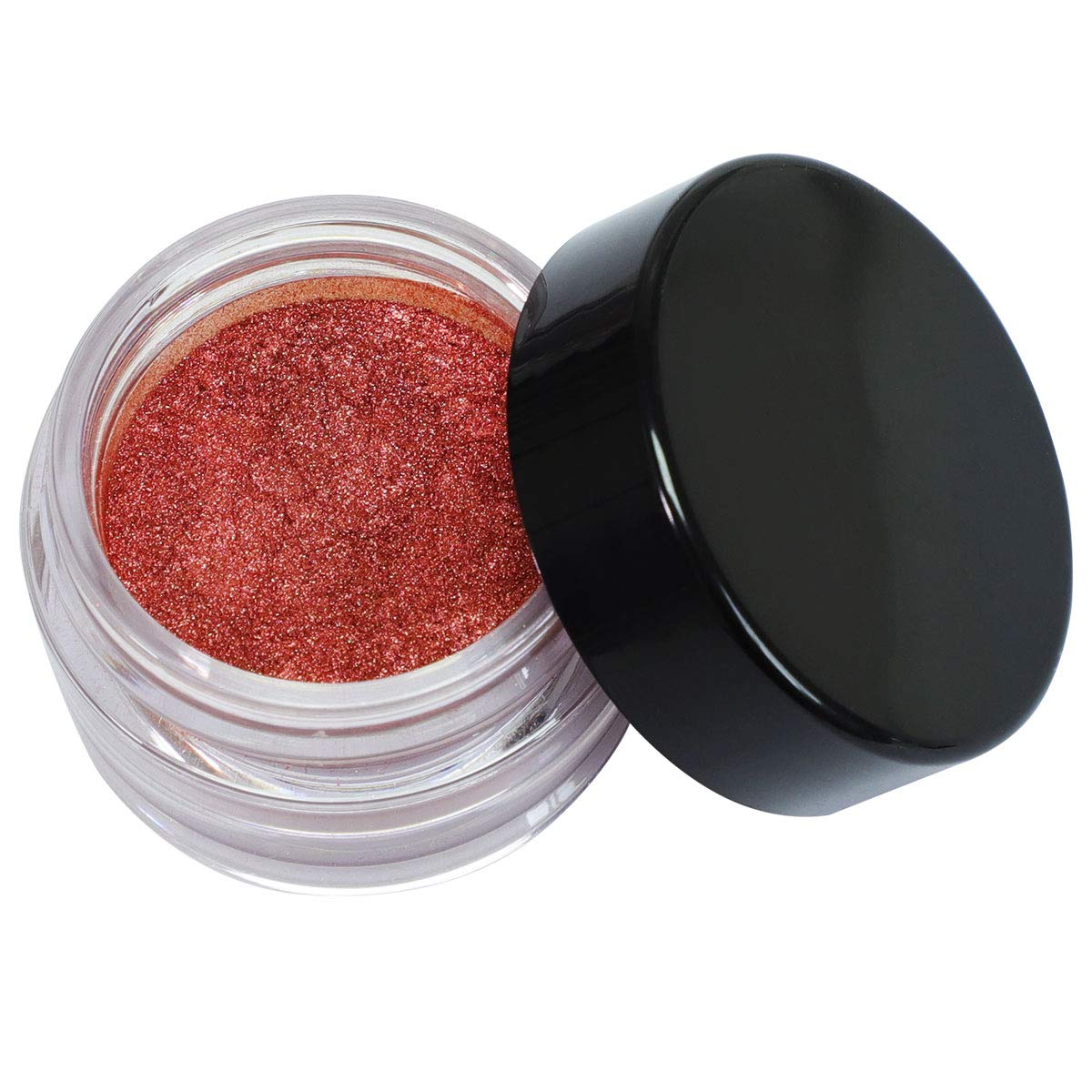 Bright Red Eye Gloss, Cosmetic Grade Mica Powder Pigment for Eyeshadow, Natural Skin Safe for Makeup, Lipgloss, Blush, Lotion, Nail Polish, Soap Making, Bath Bomb, Polish Supplies, Halloween Eyeshadow, 5g\/ 0.17 oz