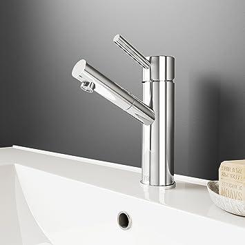 Vigo Vg01009ch Noma Modern Bathroom Faucet Single Hole Deck Mount