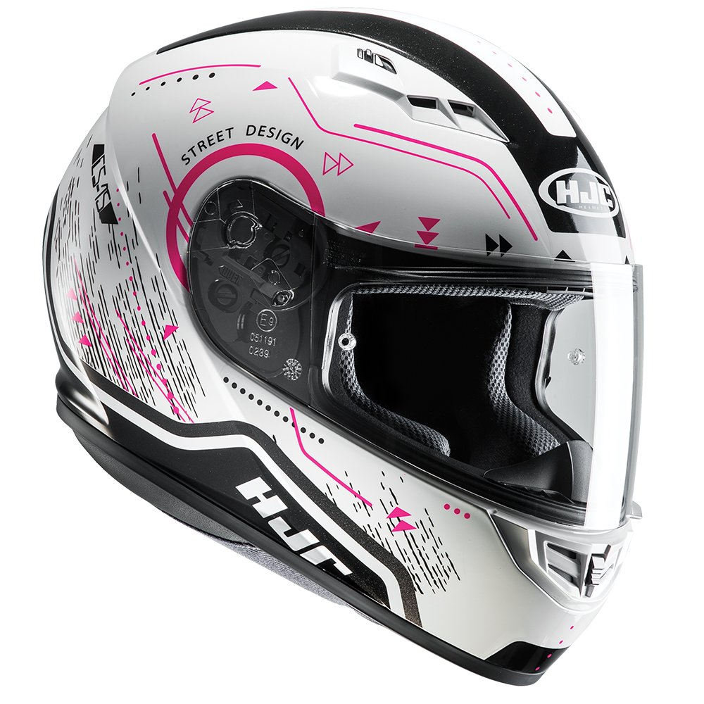 Ladies Motorcycle Motorbike HJC CS-15 MC8 Safa Pink Helmet Womens Safety