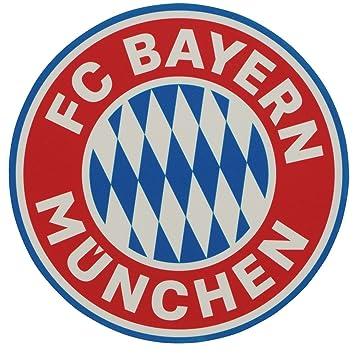 FC Bayern Múnich Logo Tarta, Cake Toppers, comestibles para Tartas Plus Gratis marcapáginas I Love München: Amazon.es: Deportes y aire libre
