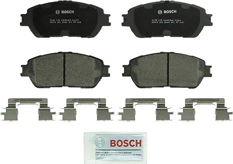 Toyota Brake Pads >> Bosch Bc906 Quietcast Premium Ceramic Disc Brake Pad Set For Lexus Es300 Es330 Toyota Avalon Camry Sienna Solara Tacoma Front