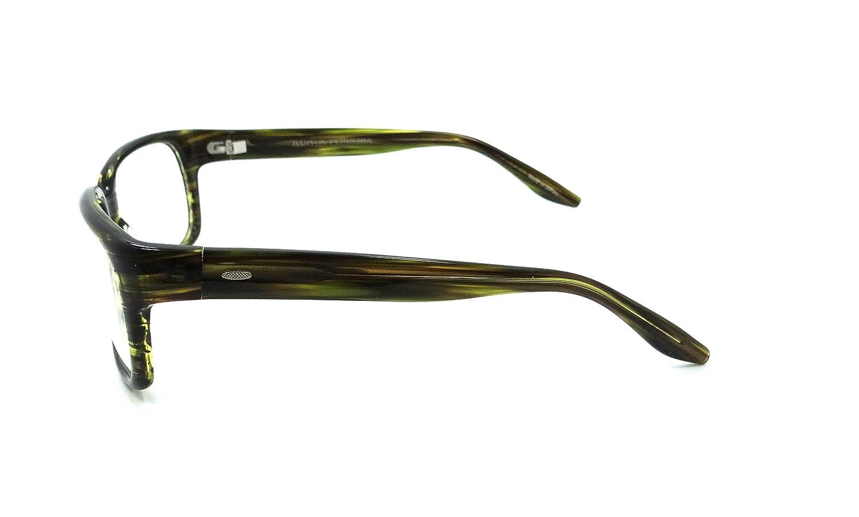 3f6bfda7c9b Amazon.com  Barton Perreira Duran Eyeglasses Frames 55-17-135 Fern Gully  Men  Clothing
