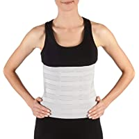Soles Compression Abdominal Binder | Post-Surgical and Postpartum Support | Adjustable Belly Wrap Supports Muscle…