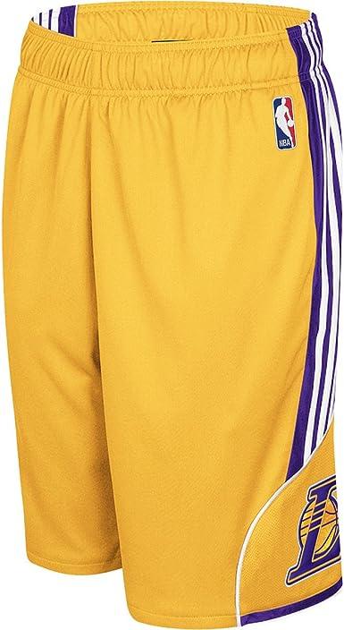 Indica espacio oferta  Adidas Los Angeles Lakers 3-Stripe Dream Short Small: Amazon.co.uk: Clothing