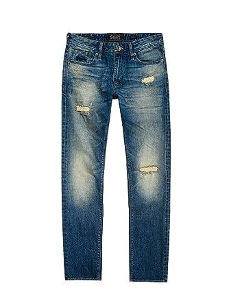 a7e0112ff894 Superdry M70003KPF6 Jeans Man Bleu 32  Amazon.fr  Vêtements et ...