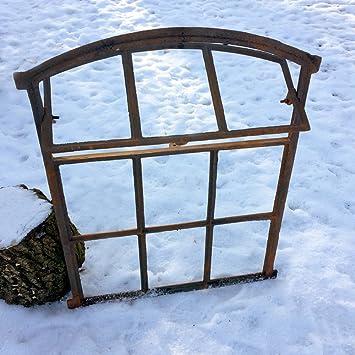 Scheunenfenster zum Öffnen Eisen Fenster Mauerruine Eisenfenster Stall