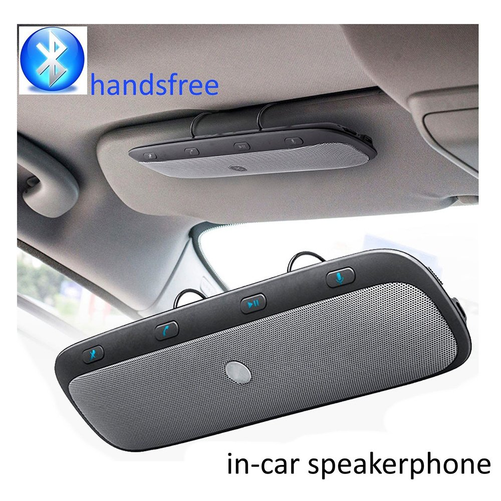 Sunvisor Bluetooth Speaker for Car TZ900 Vehicle Speaker Mic Wireless Handsfree In-car Speakerphone