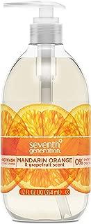 product image for Seventh Generation Hand Wash Soap, Mandarin Orange & Grapefruit , 12 Fl Oz, (Pack of 8)