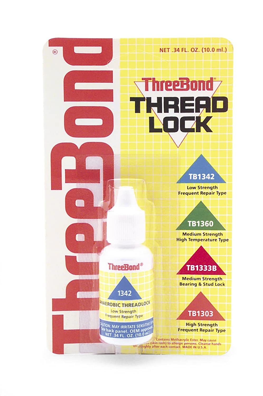 Three Bond Int ' l , Inc。ねじロック低/ 50cc 1342 a50 C B000UKJEES