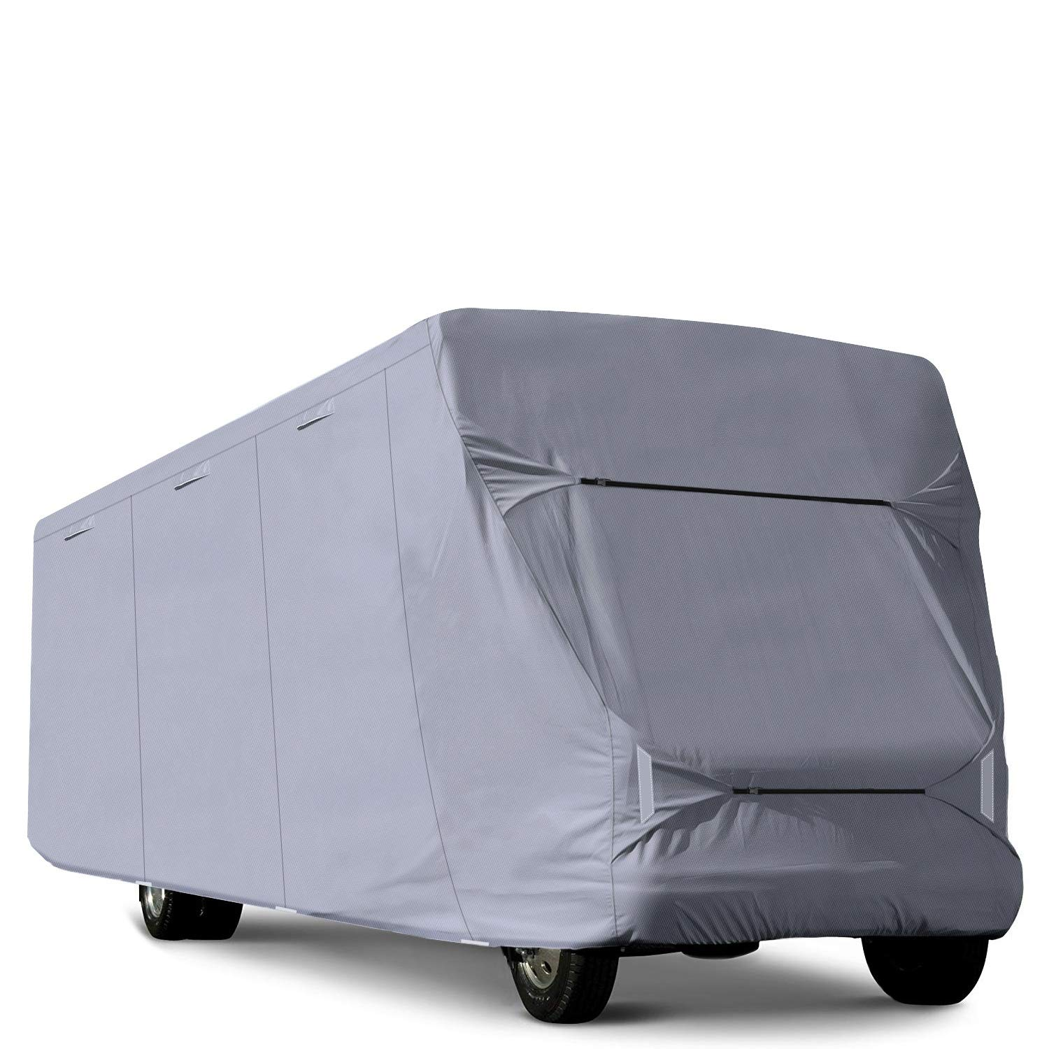RVMasking Class C RV Cover, Fits 29'-32' Trailer Camper with Adhesive Repair Patch by RVMasking
