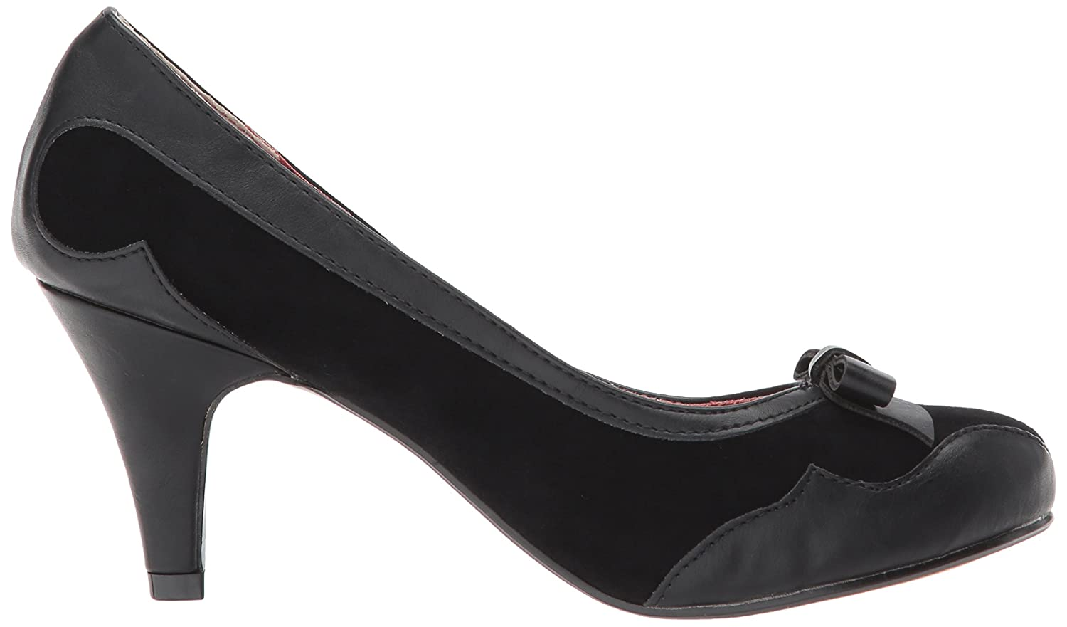 Bettie Page Women's Bp310-Jolie Spectator US|Black Pump B06ZZCDFM3 10 B(M) US|Black Spectator 8d4e18