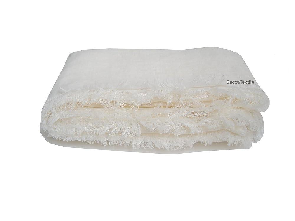 Manta de lino blanco de alta calidad, ropa de cama de lino ...