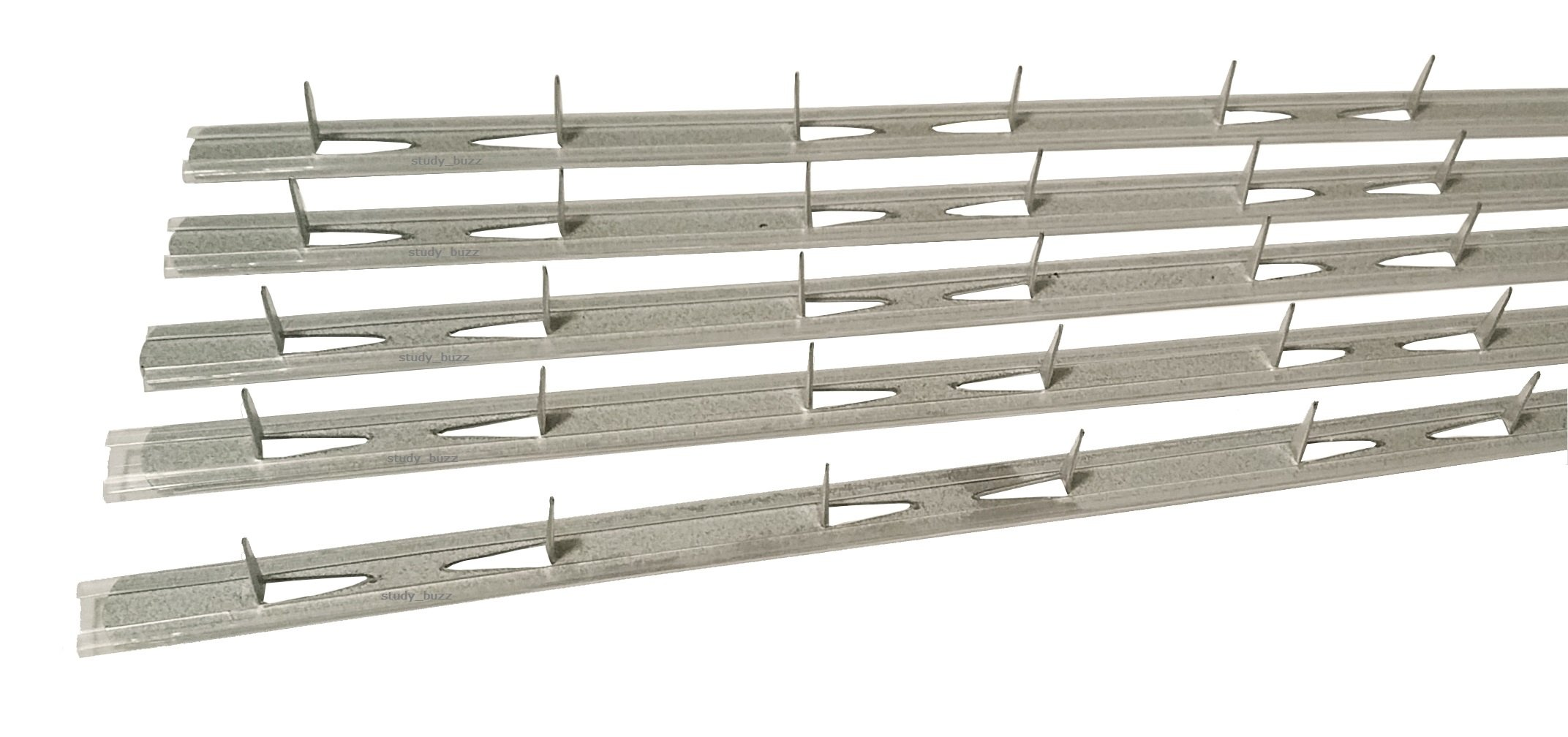 27'' Upholstery Insulated Tack Strip - Box of 100 Strips