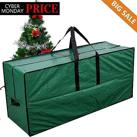 christmas tree storage bag perfect heavy duty tree storage or christmas decorations storage container green 65