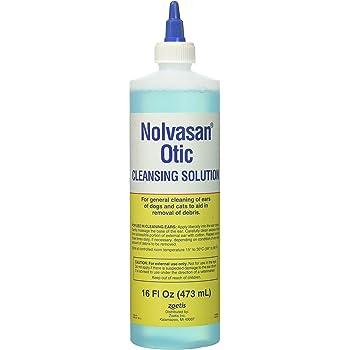 Amazon Com Nolvasan Otic Cleansing Solution 16 Oz
