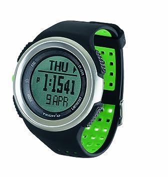 Tech4O Traileader Pro - Reloj de Pulsera para Deporte, Color Negro y ...