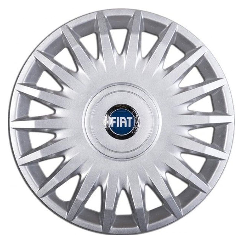 Tapacubos de 15 pulgadas de diámetro (38,1 cm) para Fiat Stilo: Amazon.es: Coche y moto