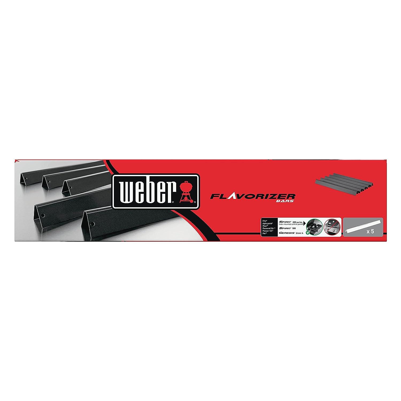 Weber 7534 - Barras Flavorizer De Acero Esmaltado Para Spirit E-210: Amazon.es: Jardín