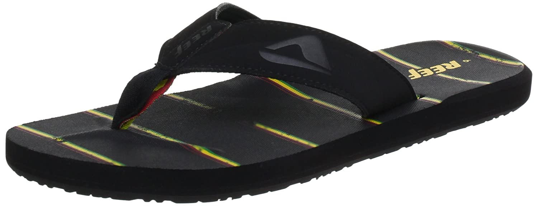 88598238f0ed Amazon.com  Reef Men s HT Prints Sandal  Shoes