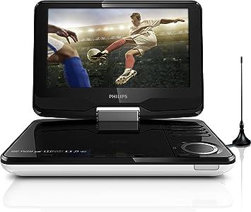 Philips PD9015/12 - Reproductor de DVD portátil (TDT integrado), negro: Amazon.es: Electrónica