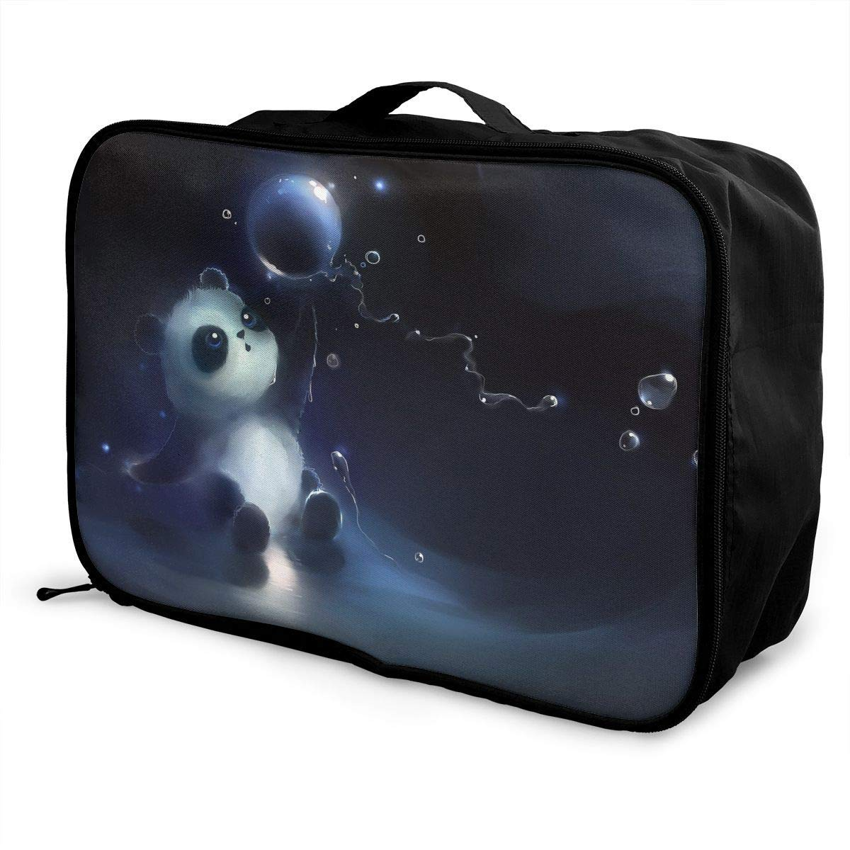 Lightweight Large Capacity Portable Duffel Bag for Men /& Women Cute Panda Bear Platinum Style Travel Duffel Bag Backpack JTRVW Luggage Bags for Travel
