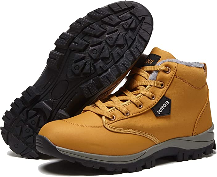 Waterproof Hiking Snow Boots Warm Ankle Boot Non-Slip