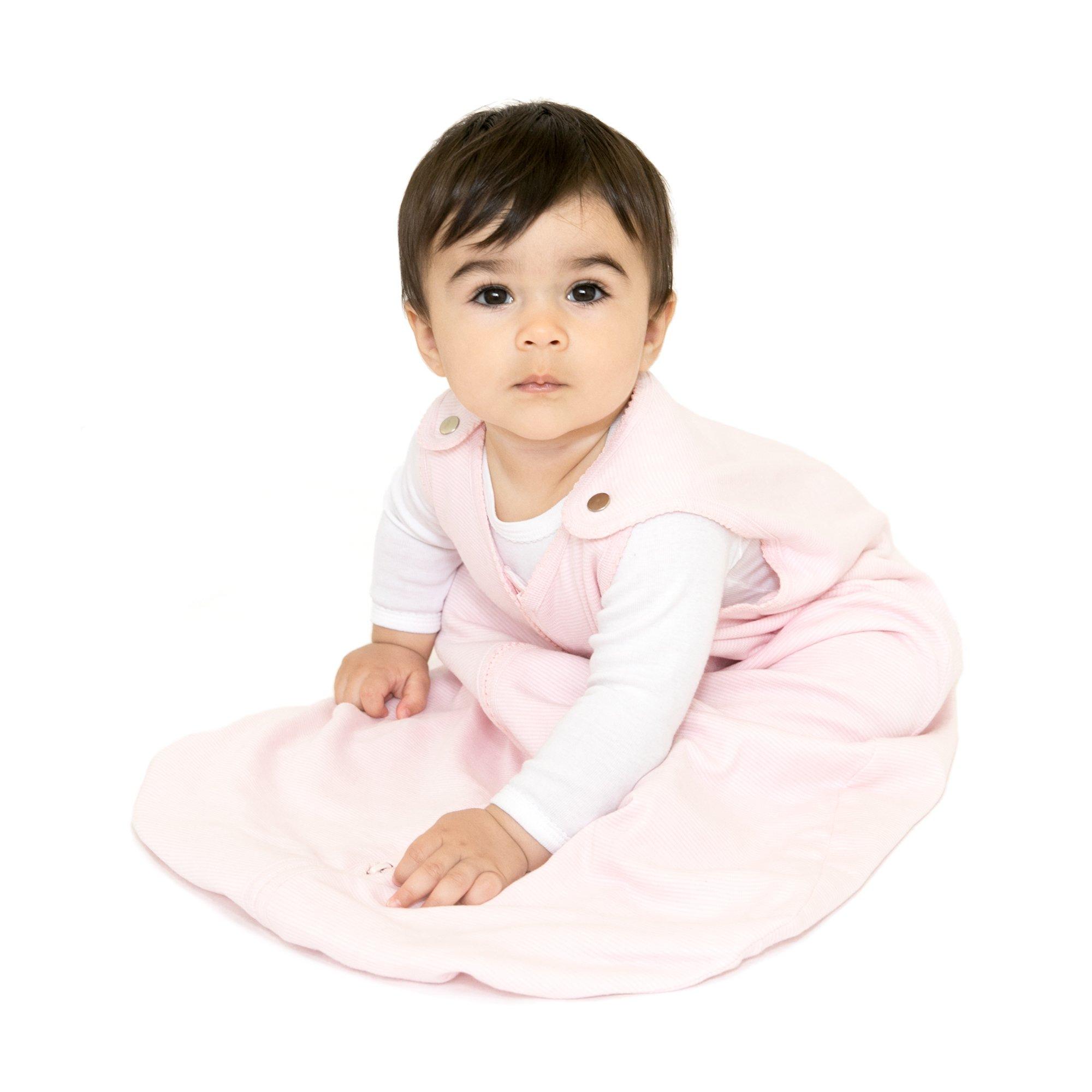 baby deedee Sleep Nest Lite, Pink Stripe, Large (18-36 Months)