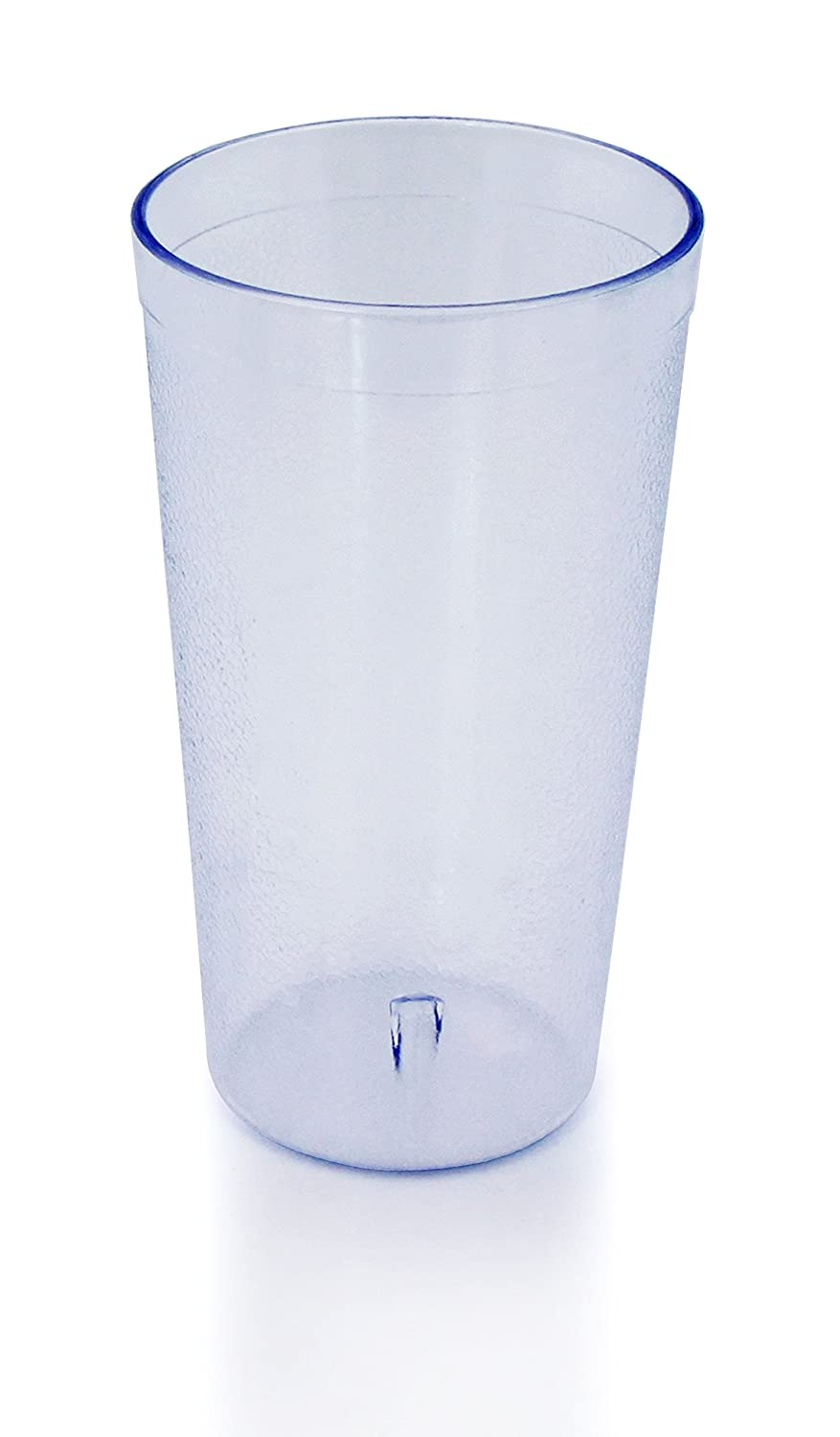 New Star Foodservice 46304 Tumbler Beverage Cups, Restaurant Quality, Plastic, 12 oz, Clear, Set of 12