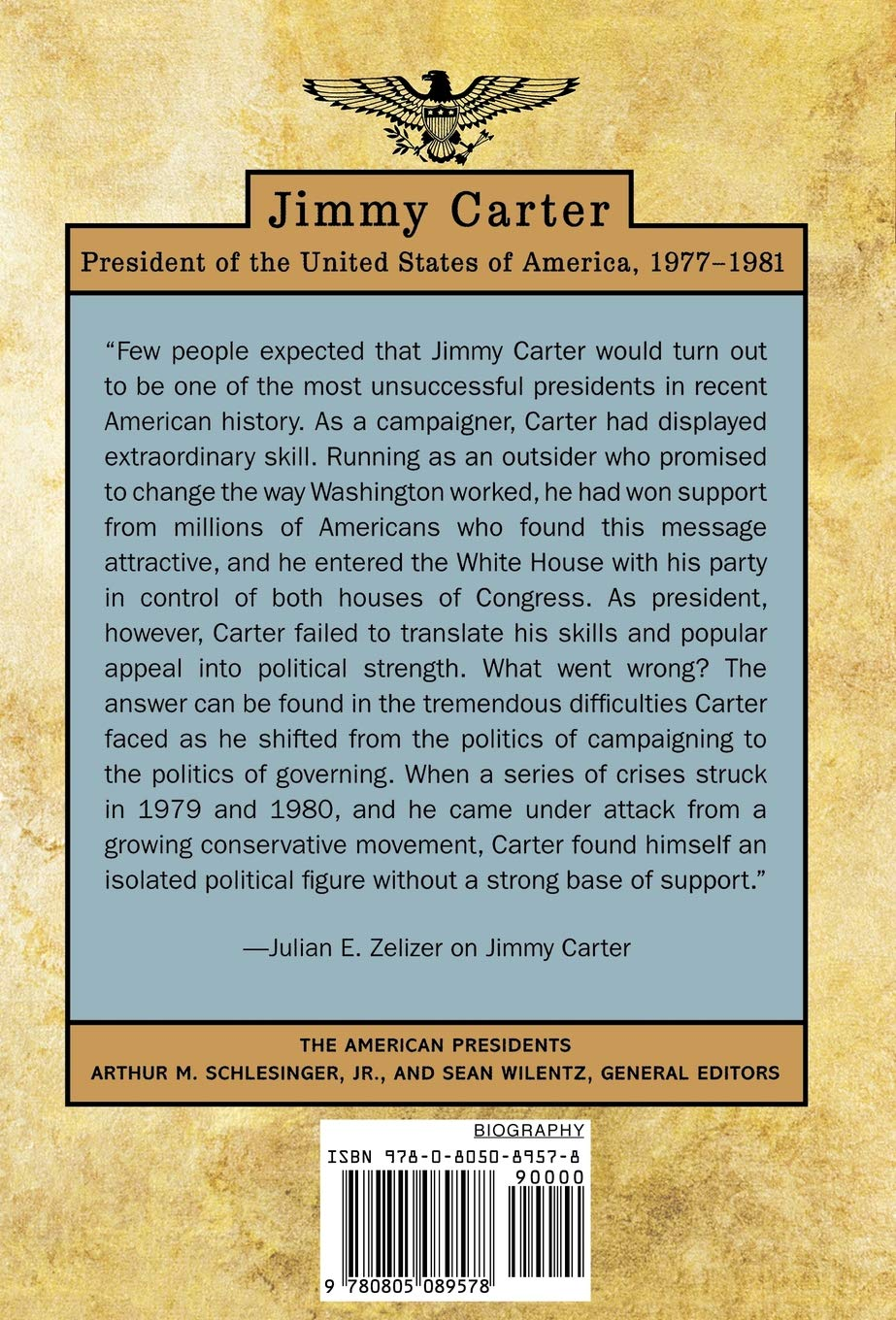 Jimmy Carter: 39th President,1977-1981: The American ...